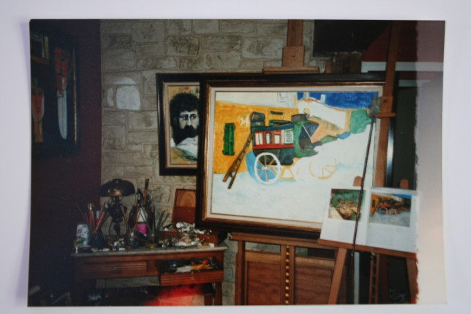 Photo d'un Van Gogh, Atelier à Paris