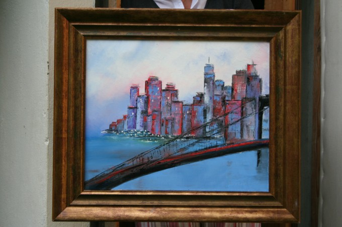 N°2 'New York bleu'