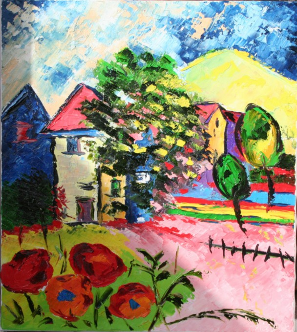 N°5 'Village coloré'