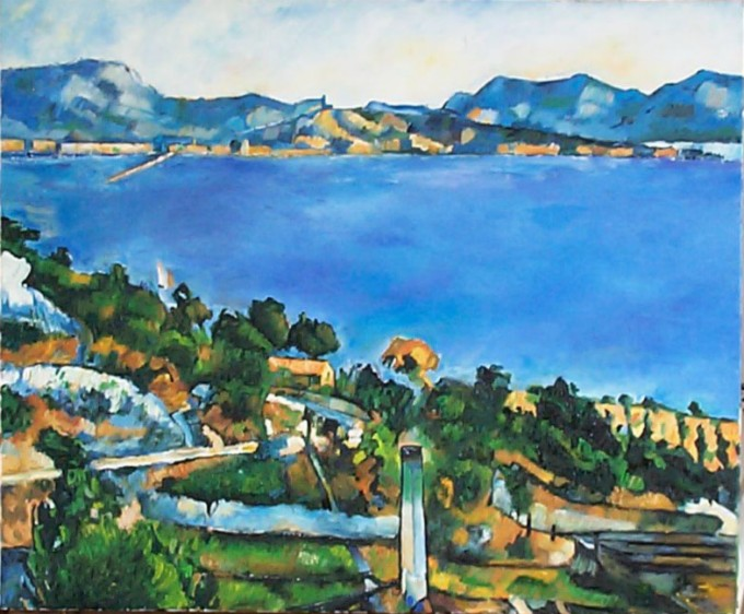 N°74 (copie) de Cézanne 