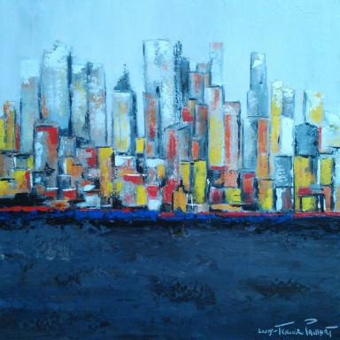 New York flou 50X50 N°3033