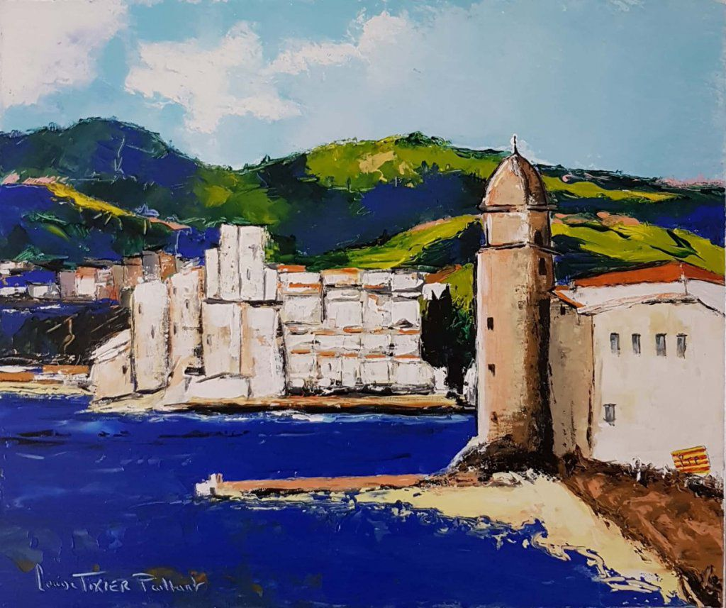 Collioure 1, N° 3653, 10F, format 55x46
